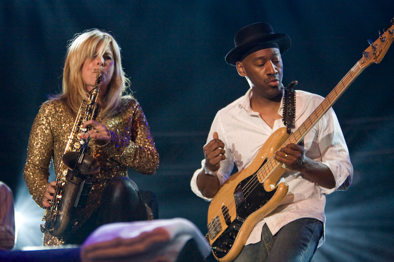 Candy Dulfer and Marcus Miller @ North Sea Jazz