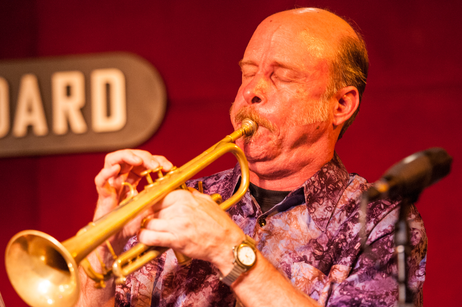 Tom Halter with the Either/Orchestra at the Jazz Standard