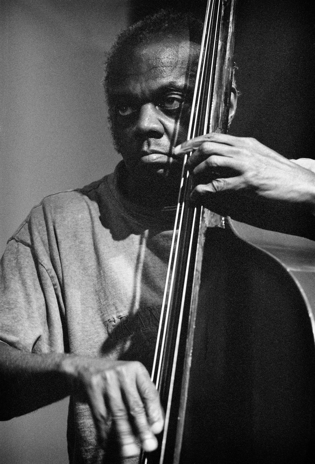 Henry Grimes Rehearsing at the Jazz Bakery