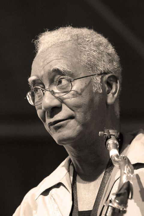 Kidd Jordan at the New Orleans Jazz and Heritage Festival 2004