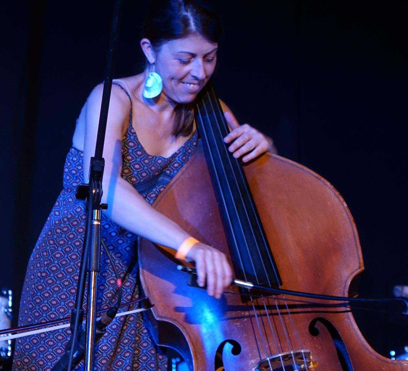Silvia Bolognesi at Vision Festival 20