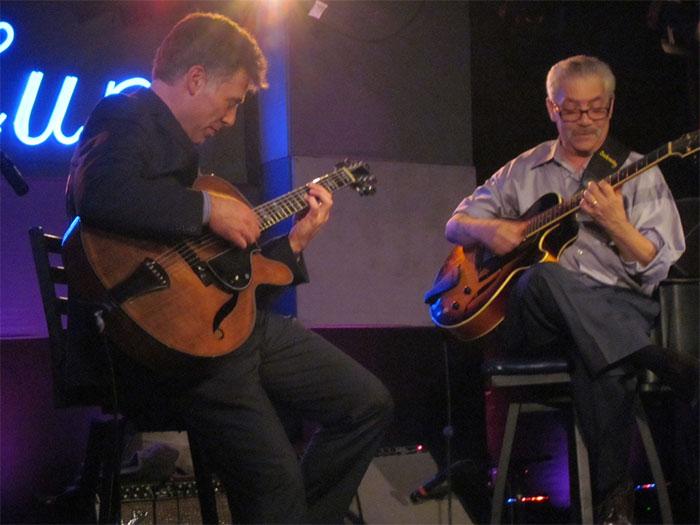 Peter bernstein and jimmy bruno at the iridium