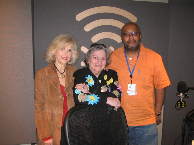 Swing Sisters Lenore Raphael and Marcia Hill Visit XM Satellite Radio NYC