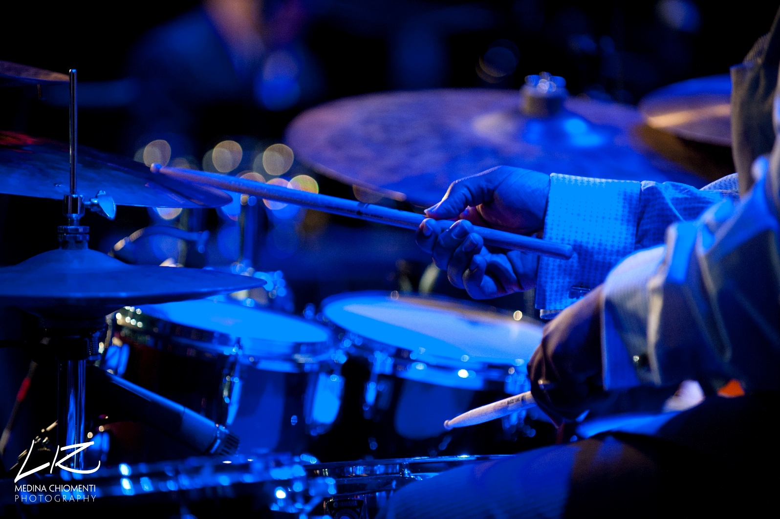 Terreon Gully on Drums for Dianne Reeves
