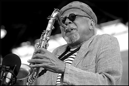 Charles Lloyd<br>2005 JVC Jazz Festival in Newport R.I.