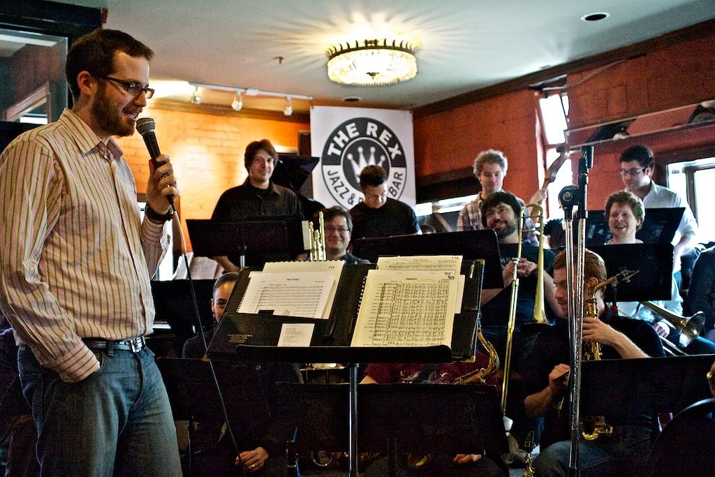 Toronto Jazz Orchestra Conducted by Josh Grossman - The Rex, Toronto