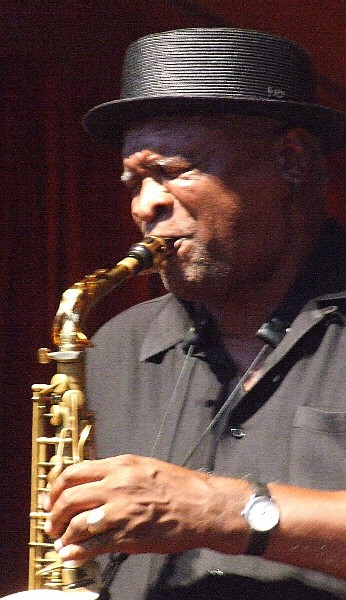 Bobby Watson Guesting with Deep Blue Organ Trio at 2011 Chicago Jazz Festival