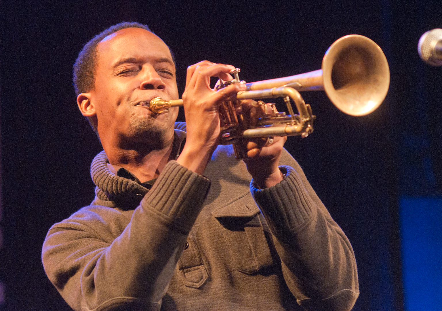 Jason Palmer at the Jam Sessions at the Oslo Jazz Festival