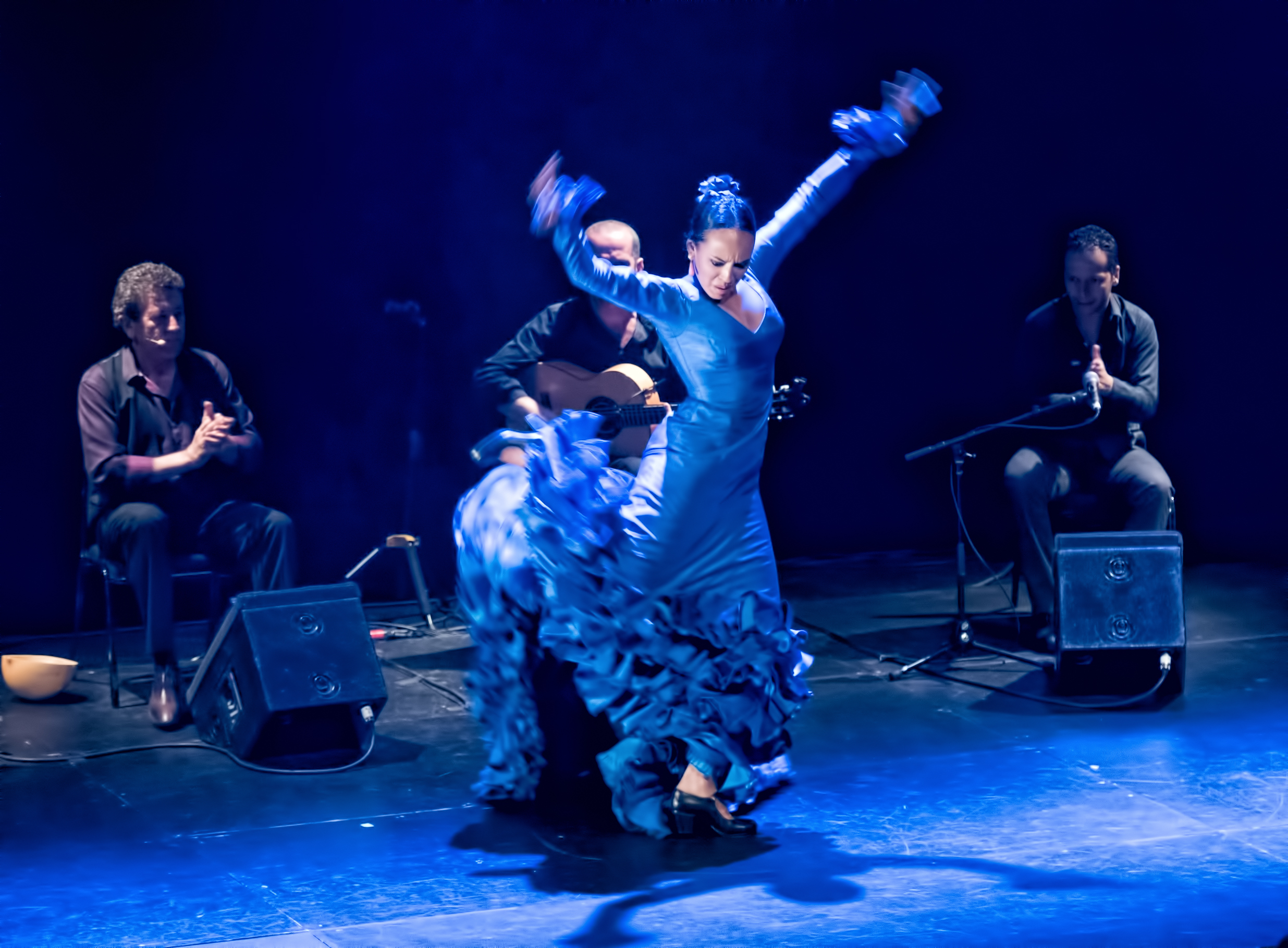 Ana Perez with Flamenco Vivo at the Montreal International Jazz Festival 2015