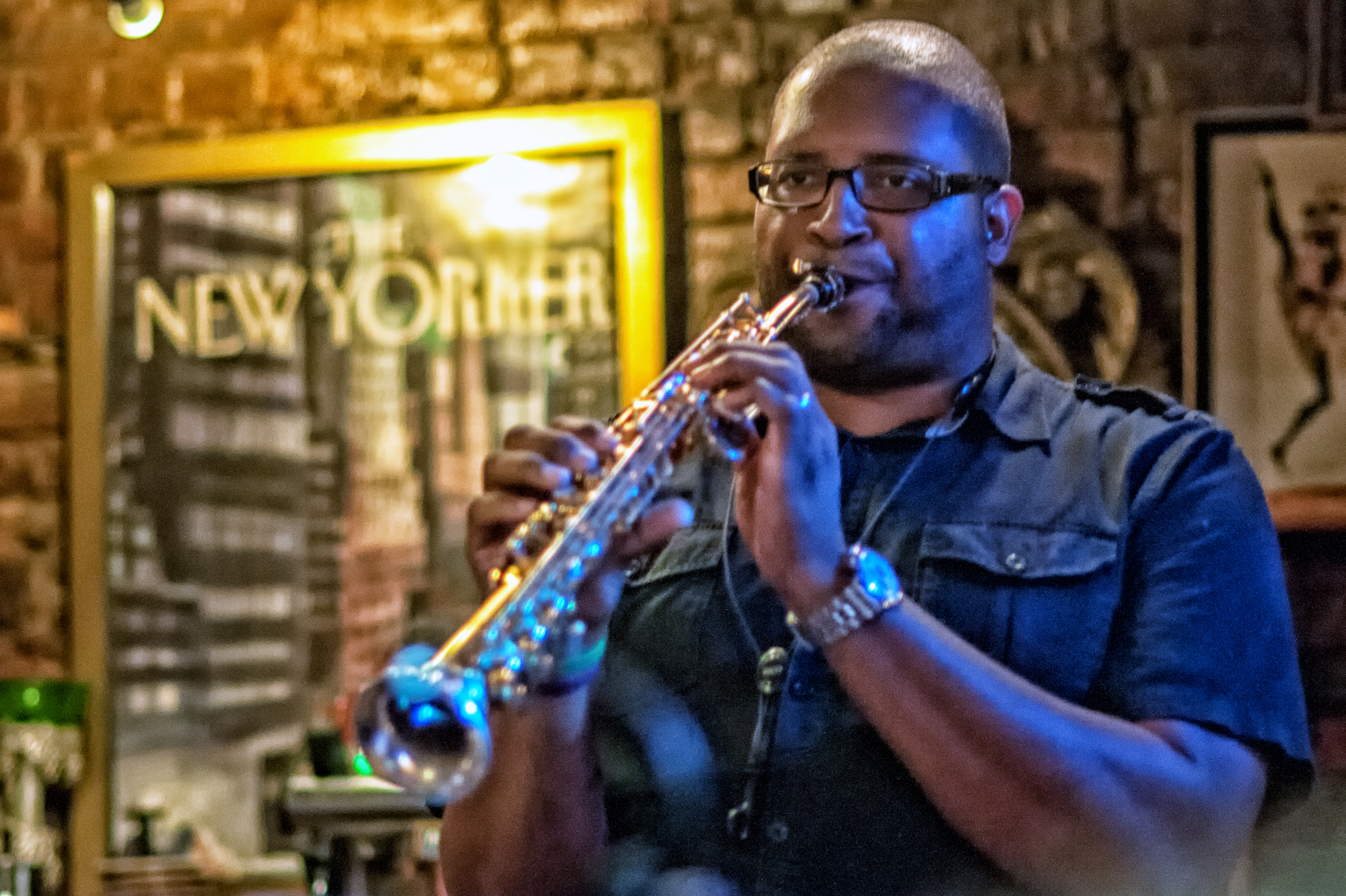 Jimmy Greene With The Quincy Davis Quintet At Smalls Jazz Club
