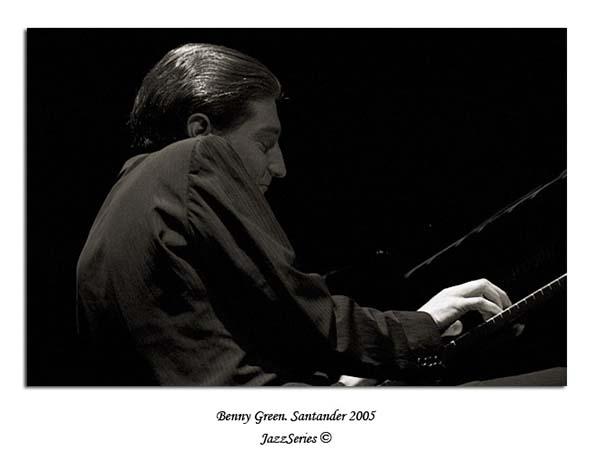 Benny Green. Santander-2005