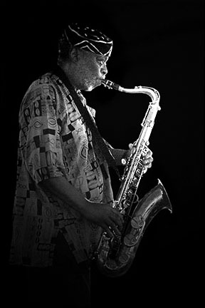 Dewey Redman<br>2003 JVC Jazz Festival in Newport R.I.