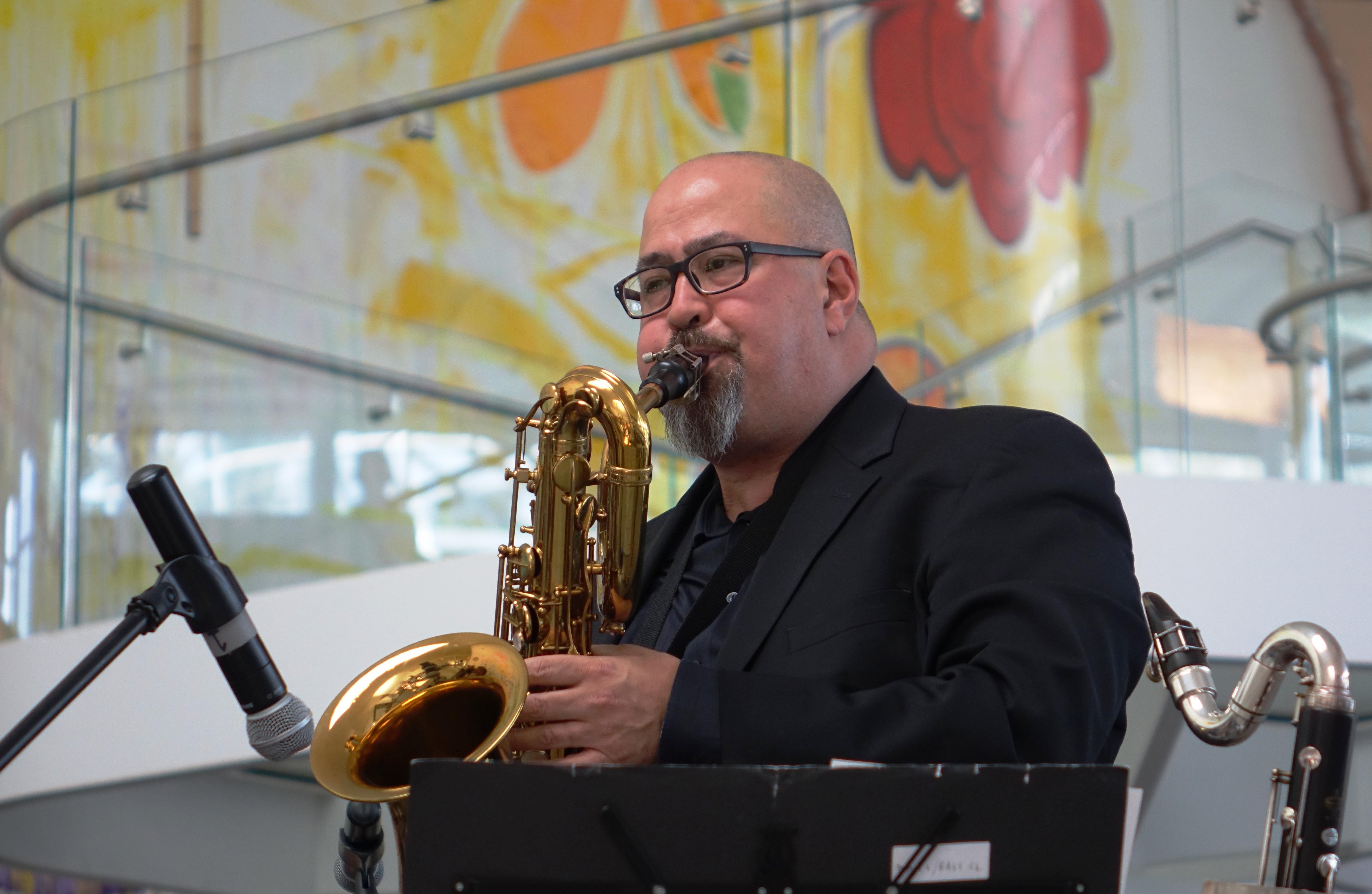 Matt Hong at the Queens Museum, Queens in June 2019