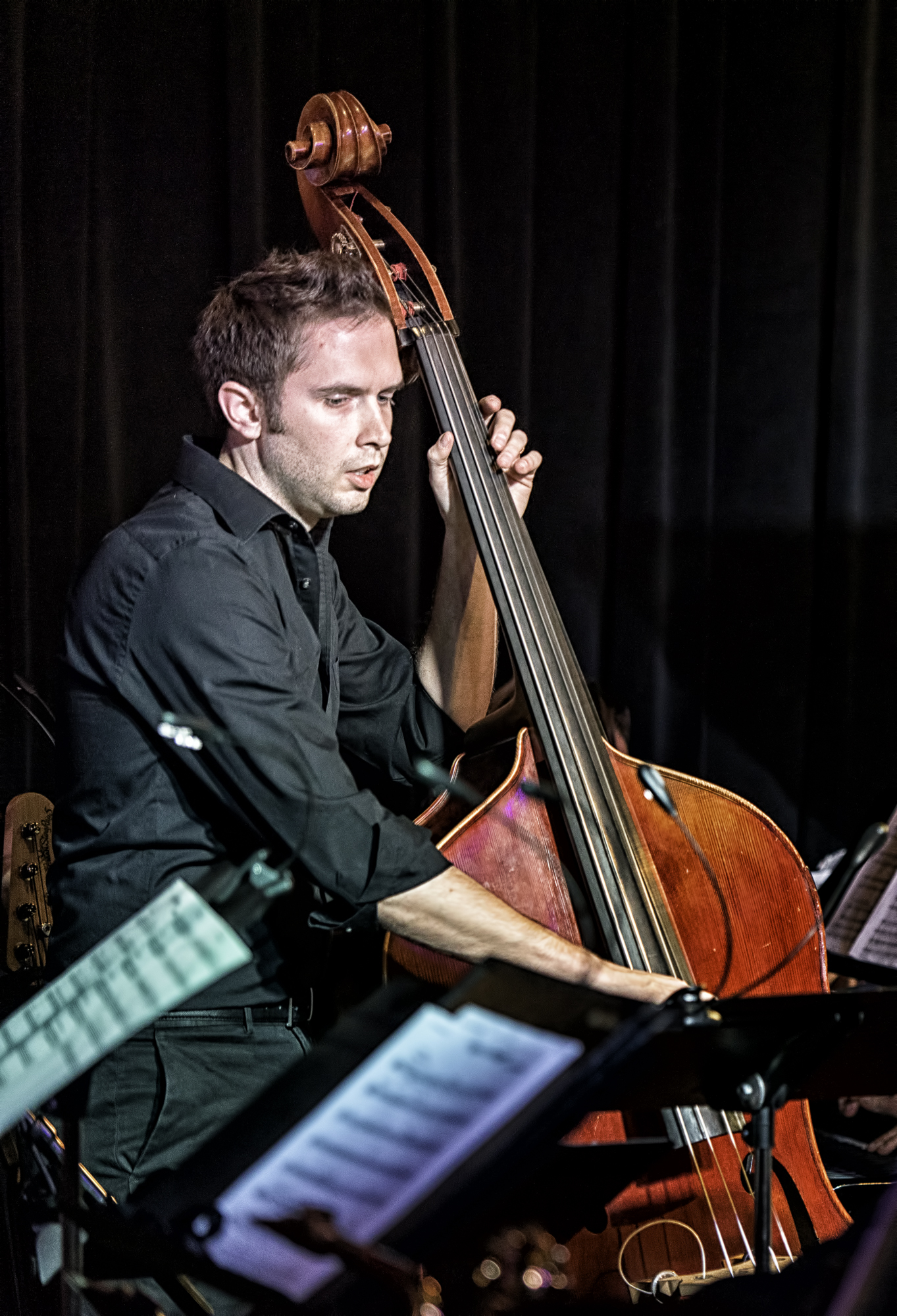 Ben Hedquist With Eric Rasmussen And Scottsdale Community College Jazz Orchestra With John Hollenbeck At The Nash In Phoenix