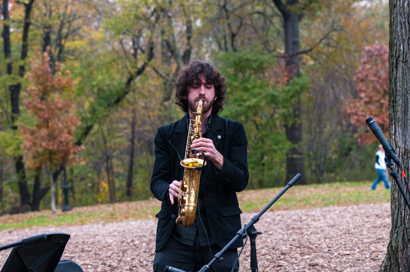 Oran Etkin at Jazz and Colors in Central Park