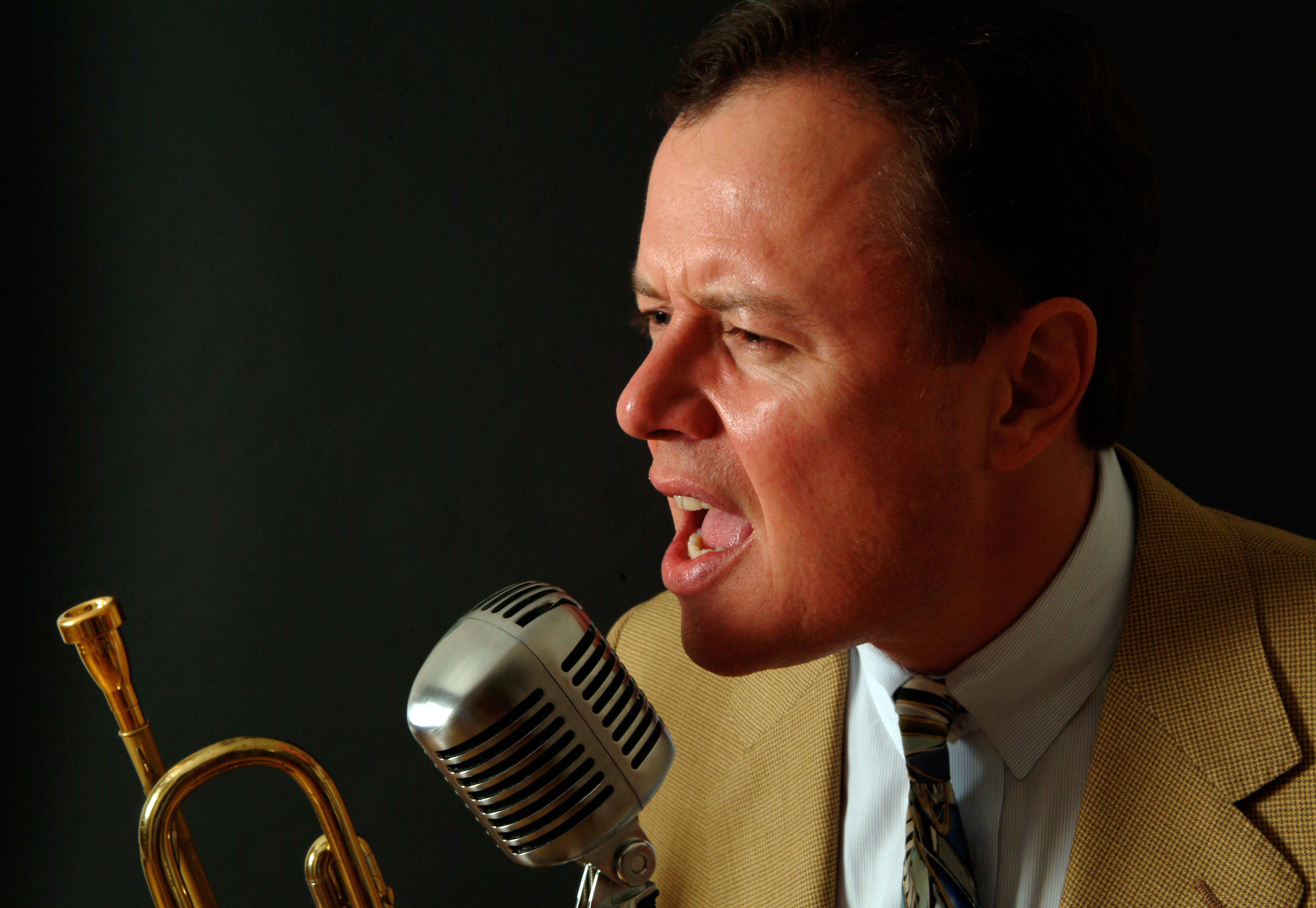 Trumpeter Bob Merrill