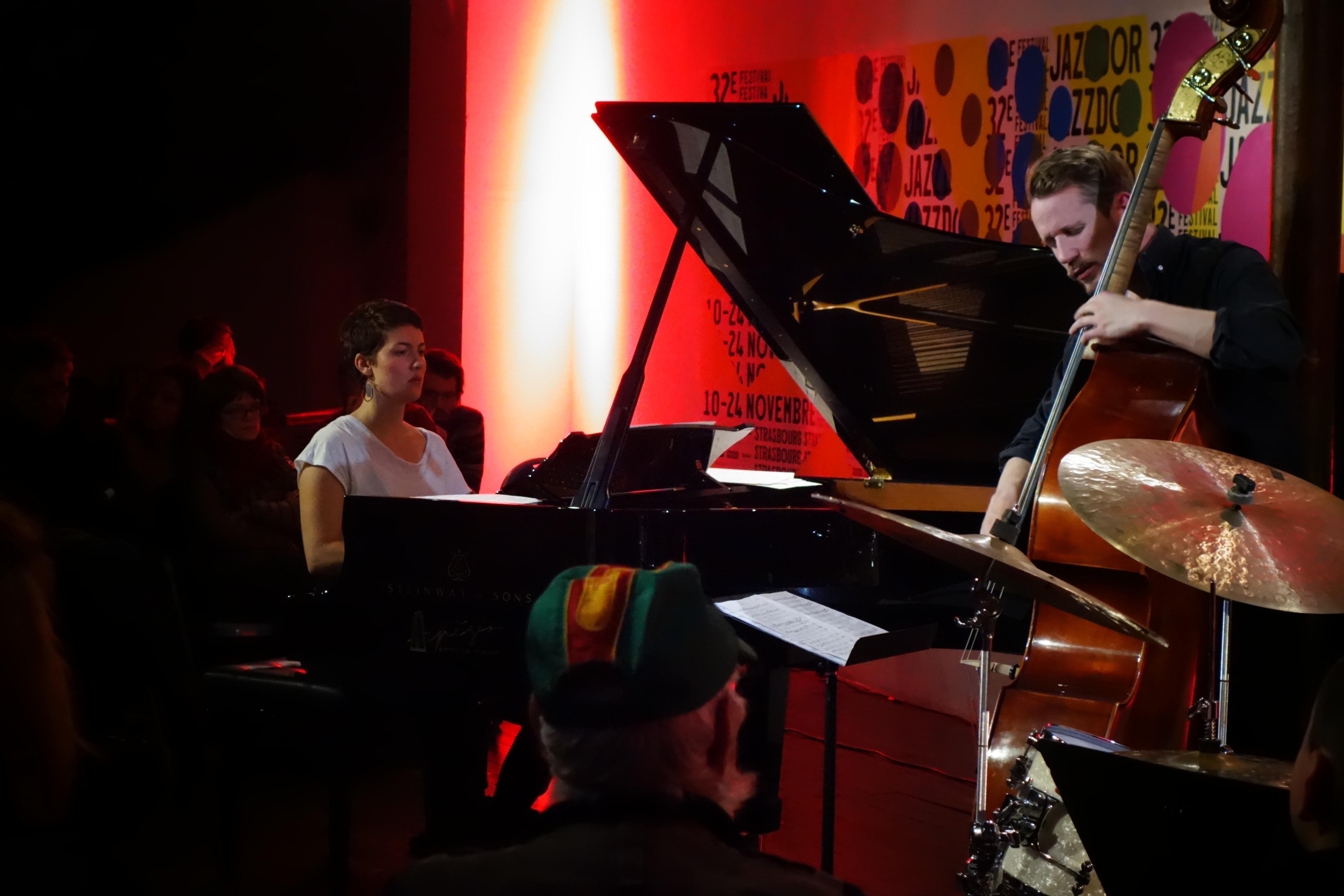 Kaja Draksler, Petter Eldh - Jazzdor Strasbourg 2017