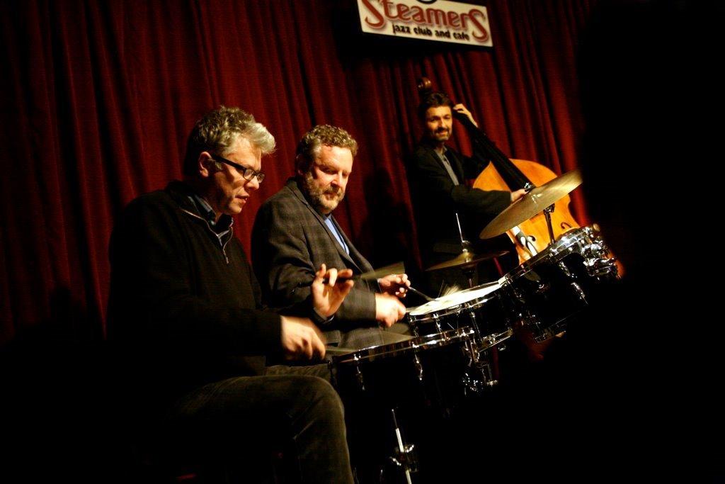 Matt Wilson, Jeff Hamilton, Christoph Luty Live @ Steamers Jazz Club