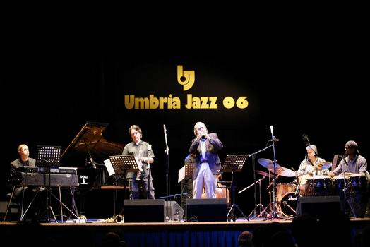 Roberto Magris and Franco Ambrosetti at Umbria Jazz