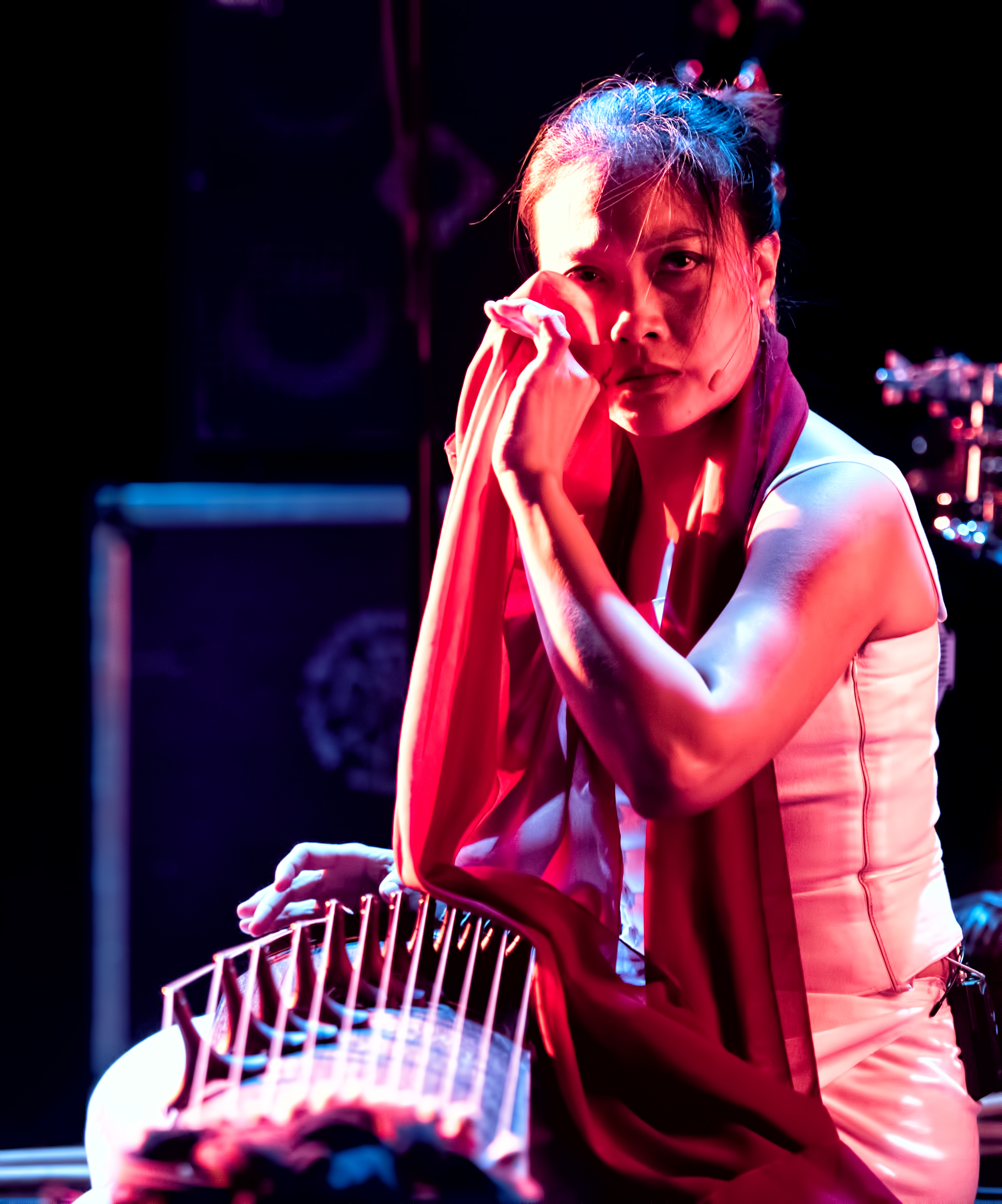 """Jen Shyu's """"solo Rites: Seven Breaths""""at the Nyc Winter Jazzfest 2015"""
