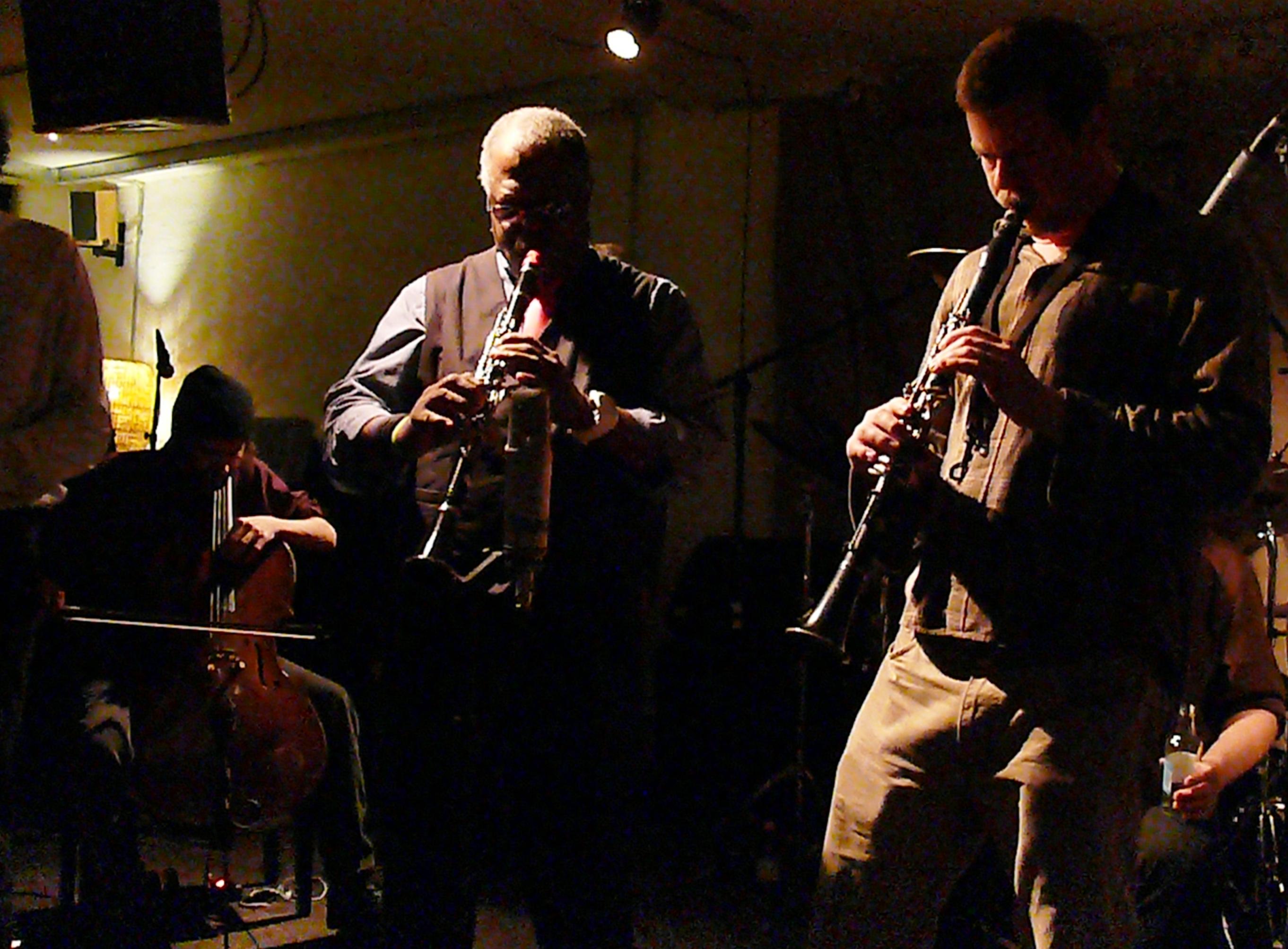 Joe McPhee and Ken Vandermark at Cafe Oto, London in November 2012