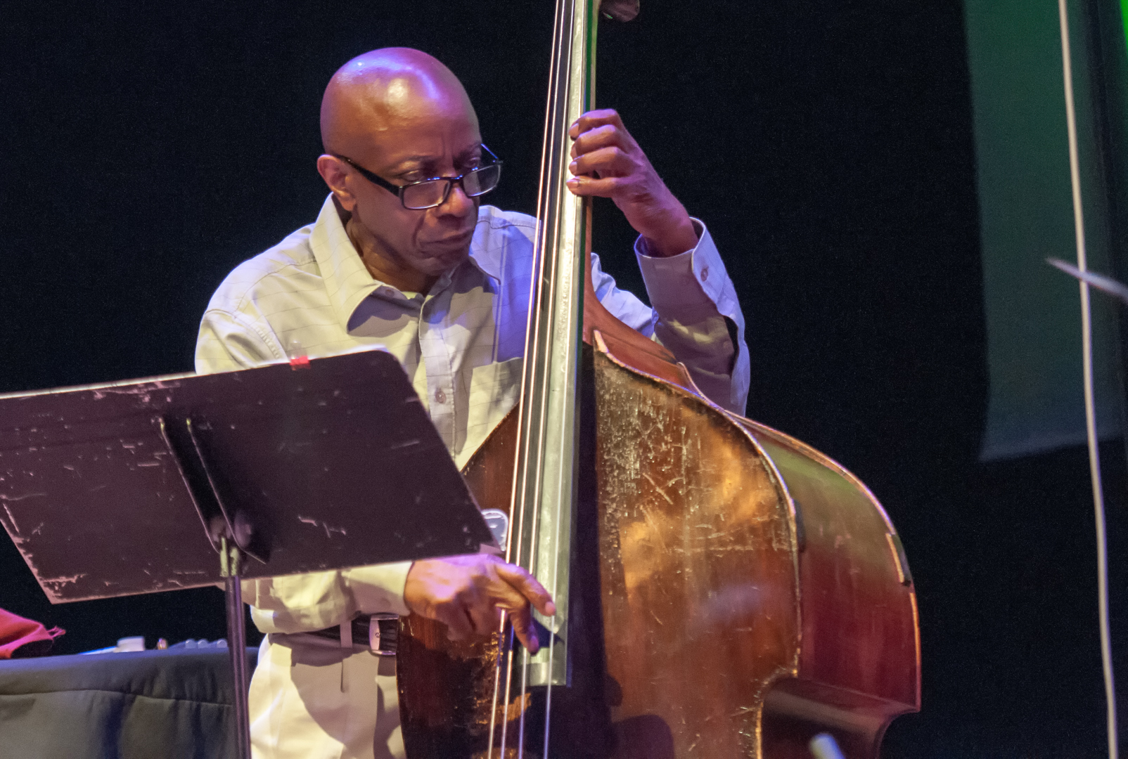 Reggie workman with trio 3 at the vision festival 2012
