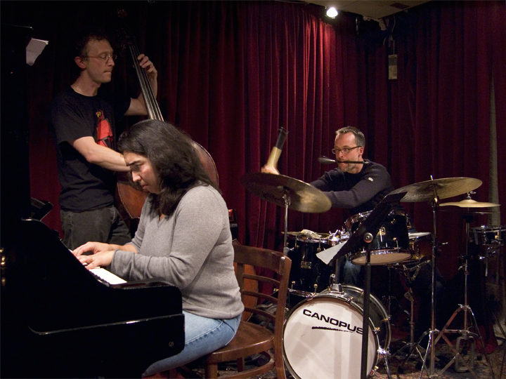 Kevin Tkacz and Not for Profit with Angelica Sanchez and Michael Sarin - Cornelia Street 2007