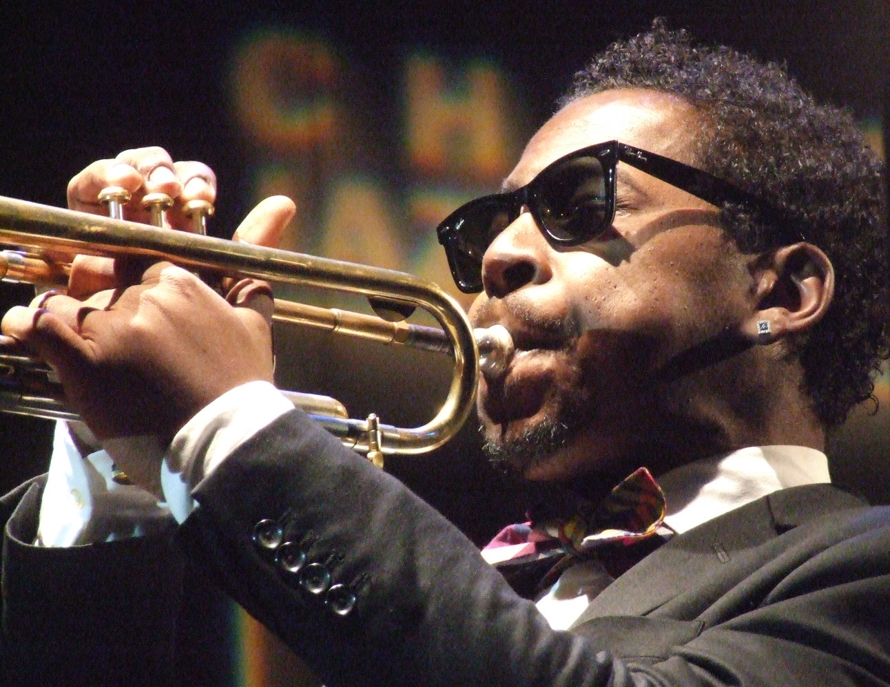 Roy Hargrove Quintet Leading His Quintet at 2011 Chicago Jazz Festival
