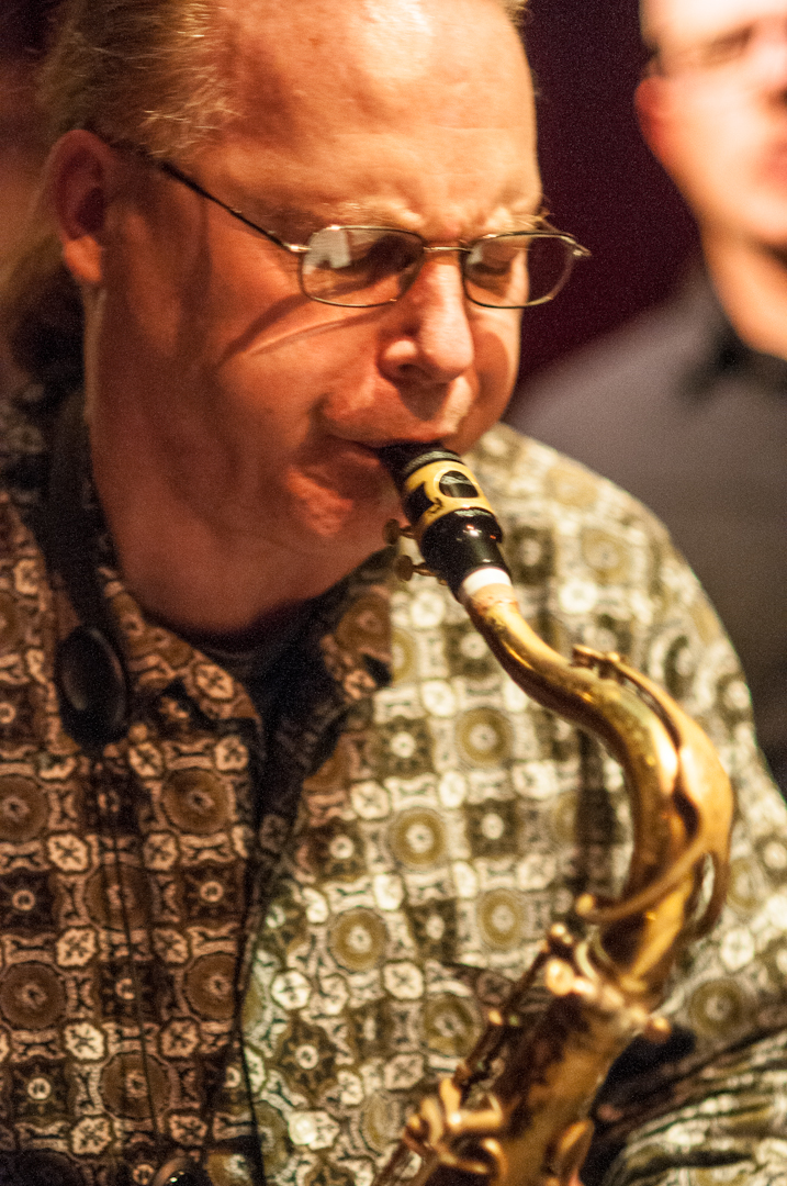 Phillipe Crettien with the Mario Pavone Mythos Sextet at Cornelia Cafe