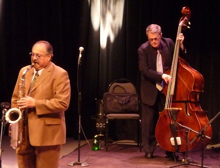 Joe Lovano & Charlie Haden at 2010 Tri-C Jazzfest Cleveland