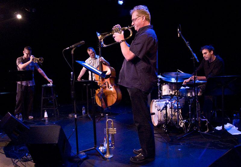 John Geggie, Cuong Vu, Jim Lewis, Jim Doxas, Ottawa International Jazz Festival