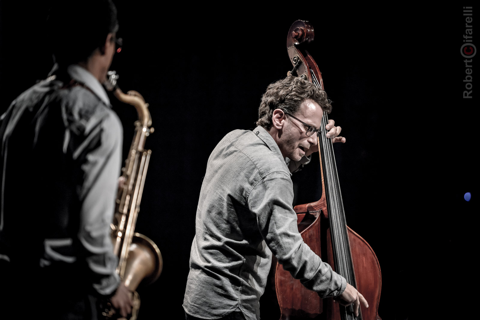 Larry Grenadier Fly Trio at Bluenote in Milan