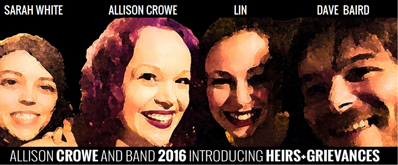 Allison Crowe and Band banner