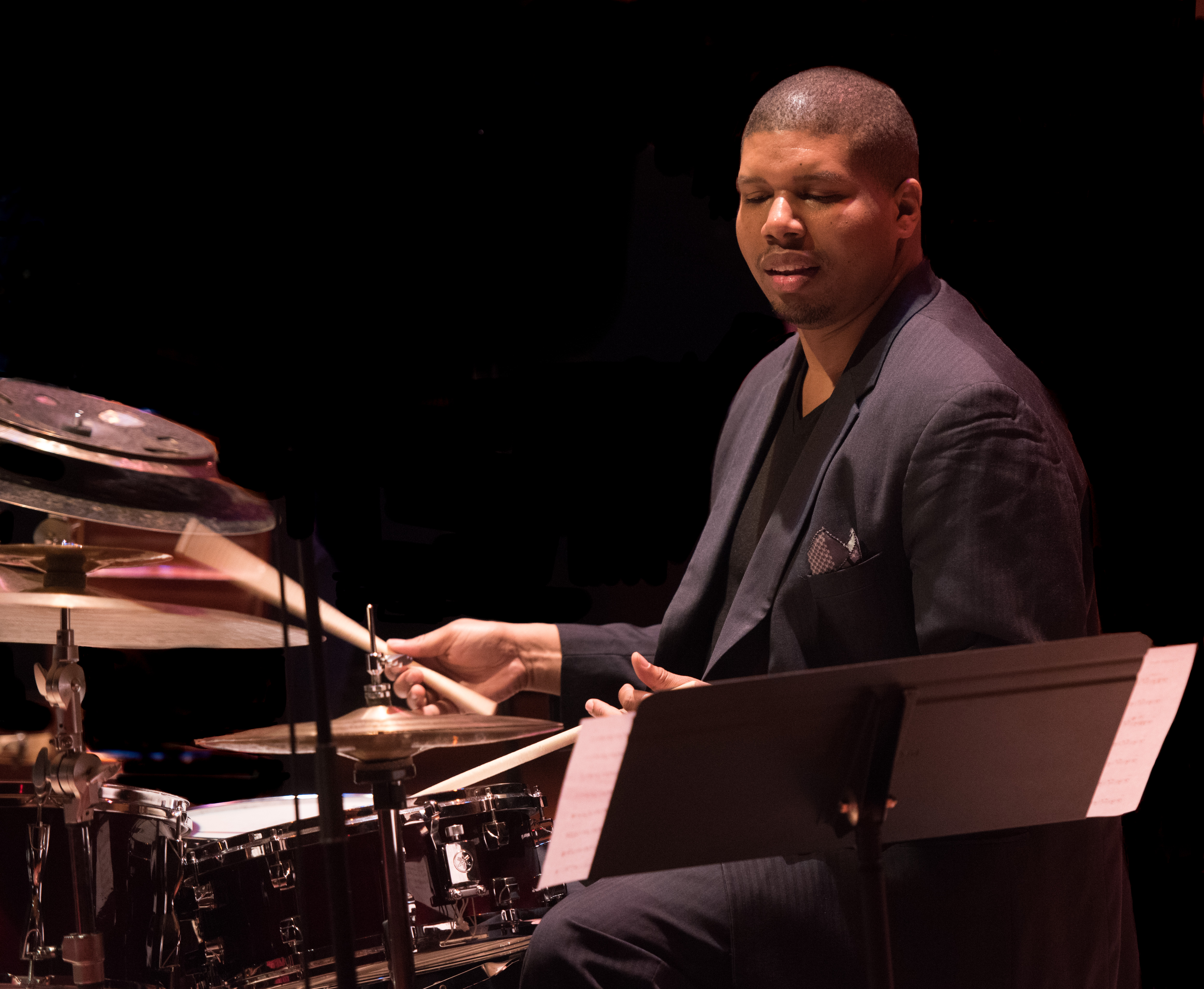 Jason Brown with the Amina Figarova Sextet At The Musical Instrument Museum (MIM) In Phoenix