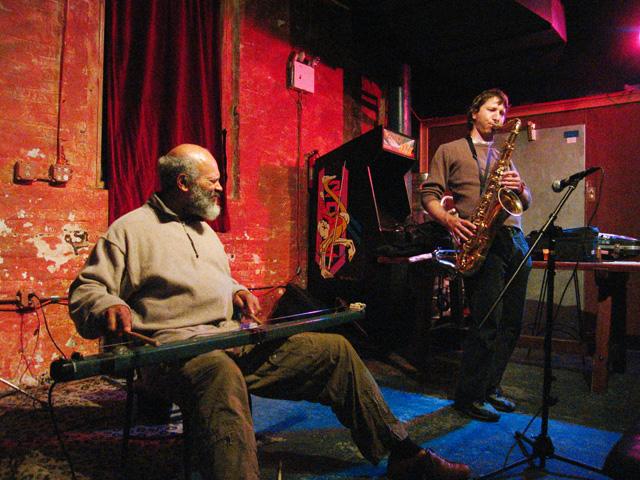 Assif Tsahar and Cooper-Moore - Tea Lounge 2006
