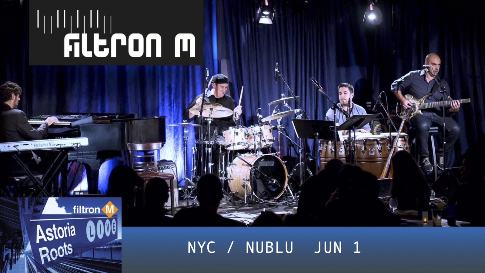 Filtron M - Astoria Roots Live album release party