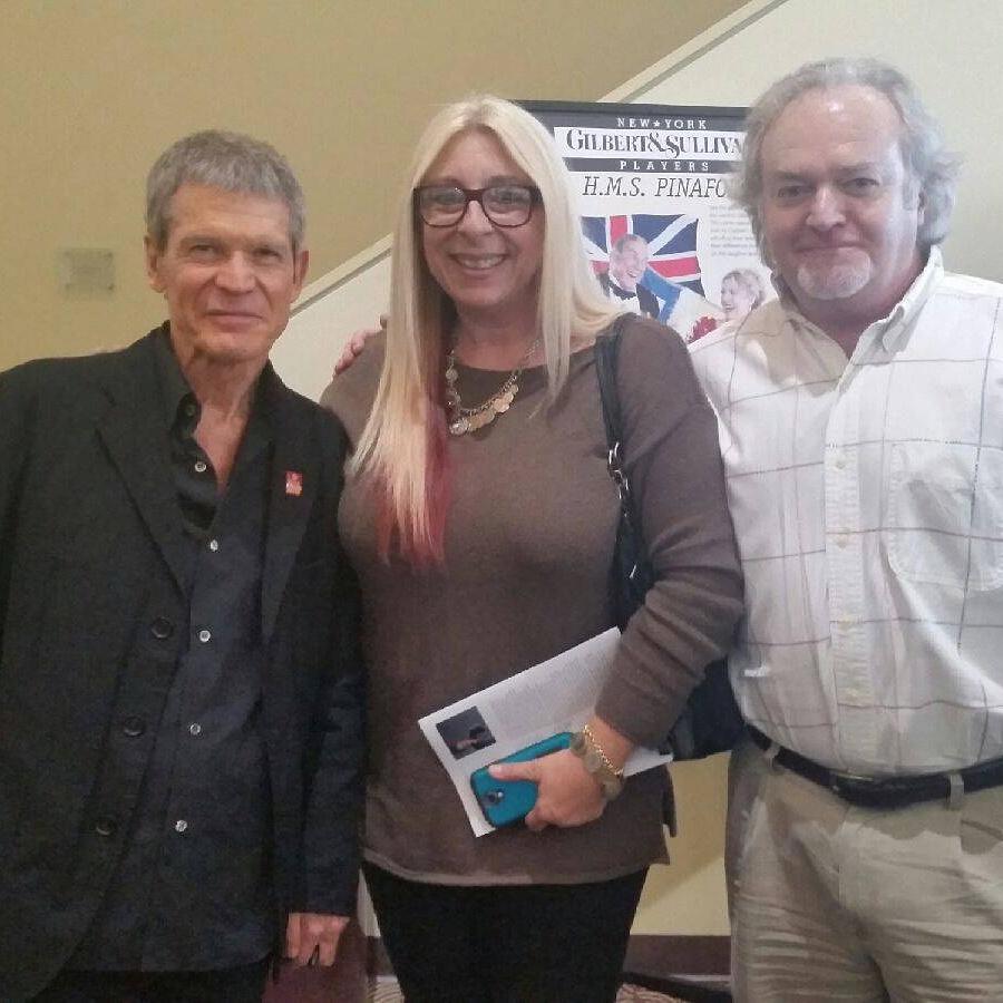 Sanborn with Ronda and Jim Worsley