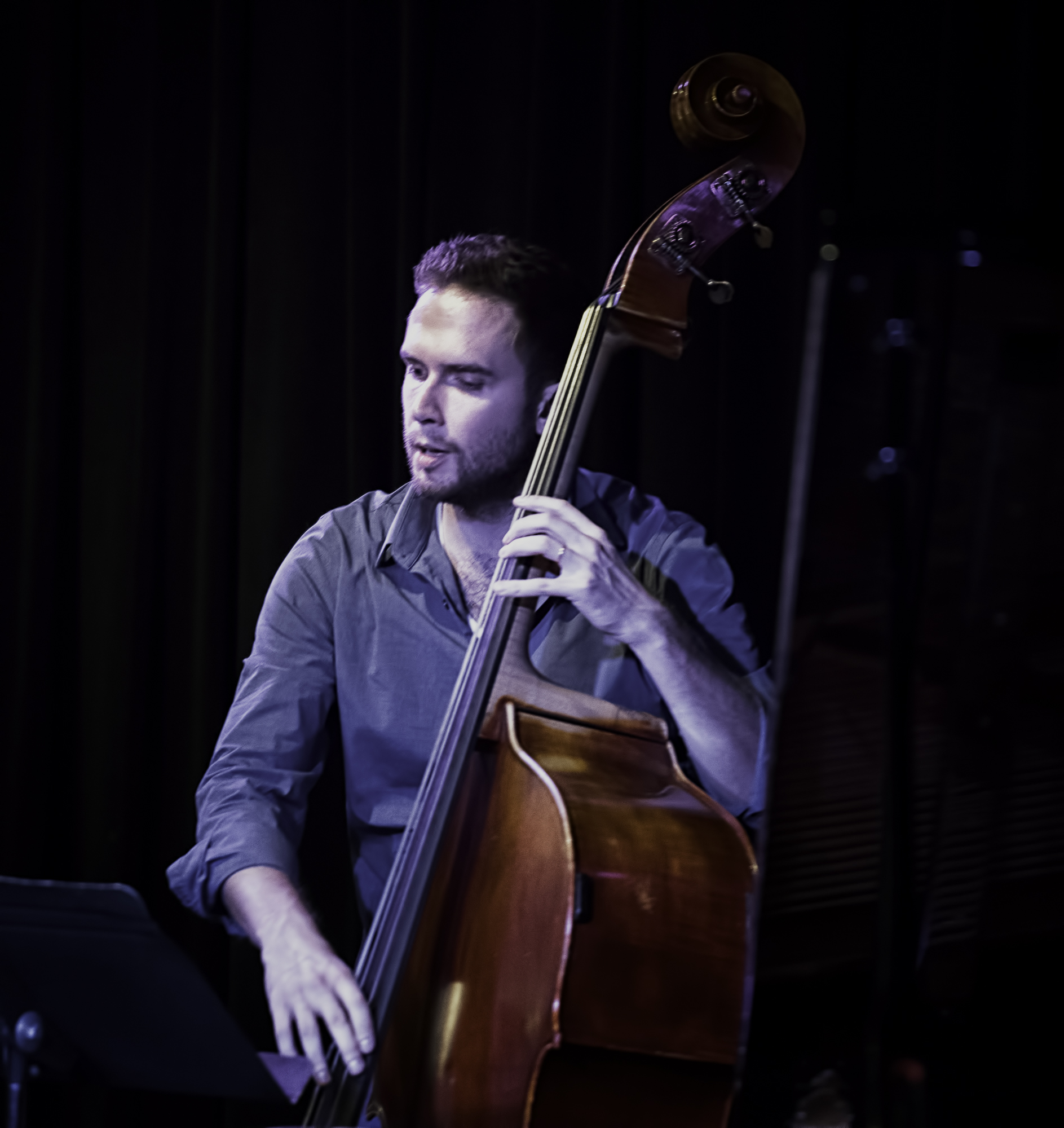 Ben Hedquist with the Michael Kocour Trio at the Nash in Phoenix