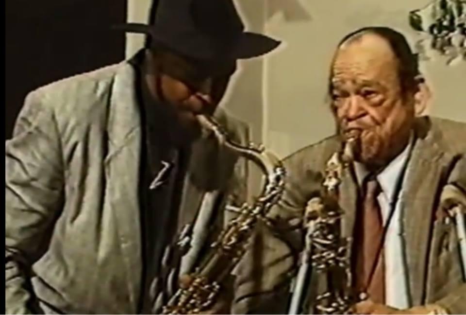 Arnett Cobb and Detroit Gary Wiggins