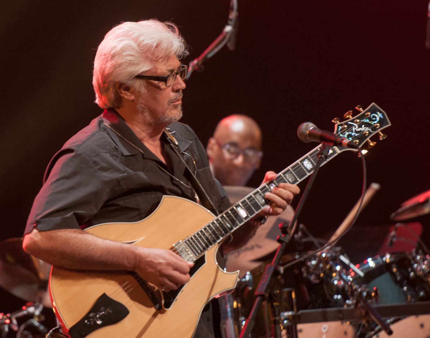 Larry Coryell and Omar Hakim with Miles Smiles at the Montreal International Jazz Festival 2012