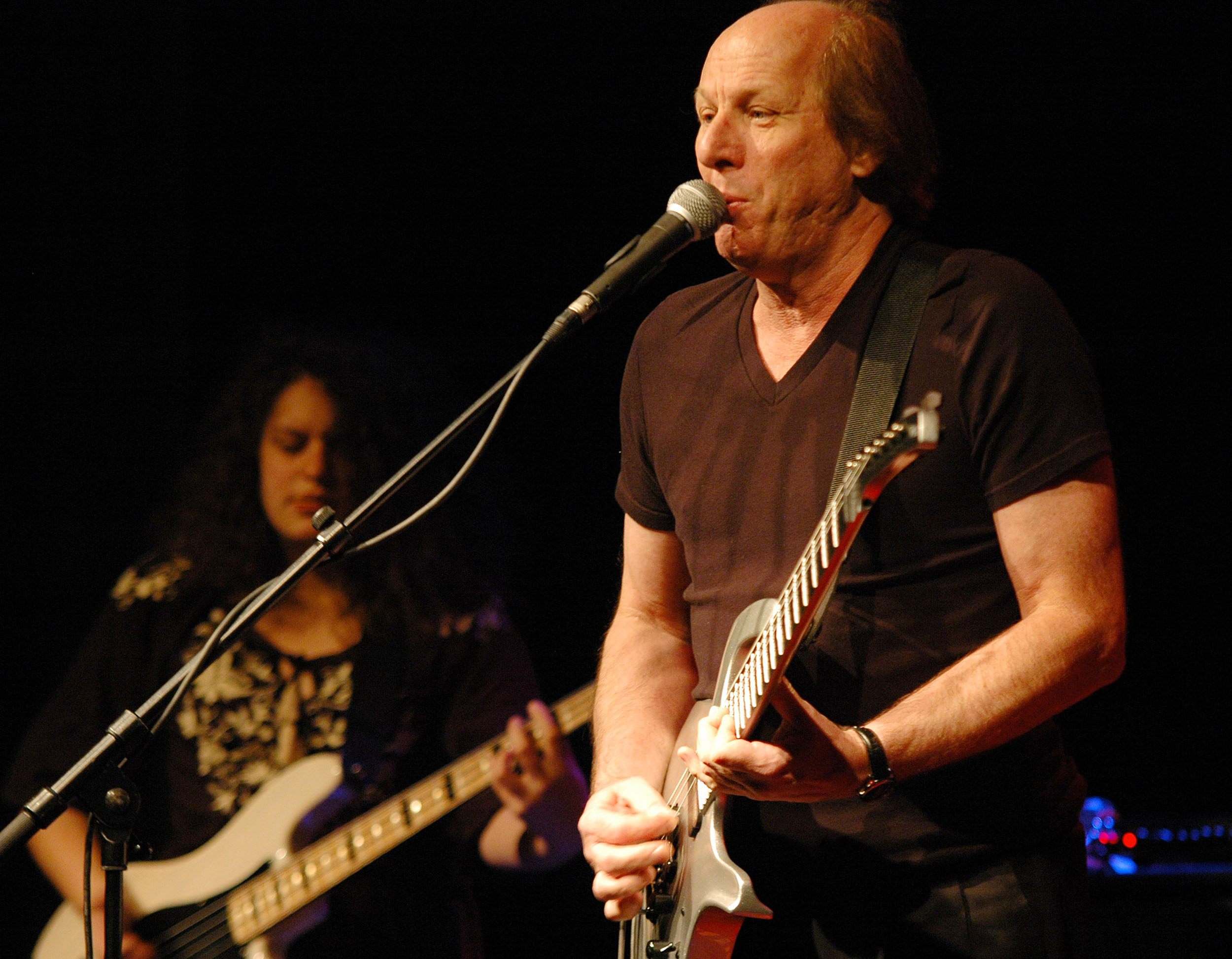 Julie Slick and Adrian Belew, Performing with Power Trio at Enjoy Jazz 2010