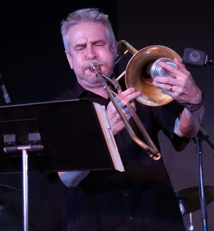 Steve Swell at Vision Festival 20