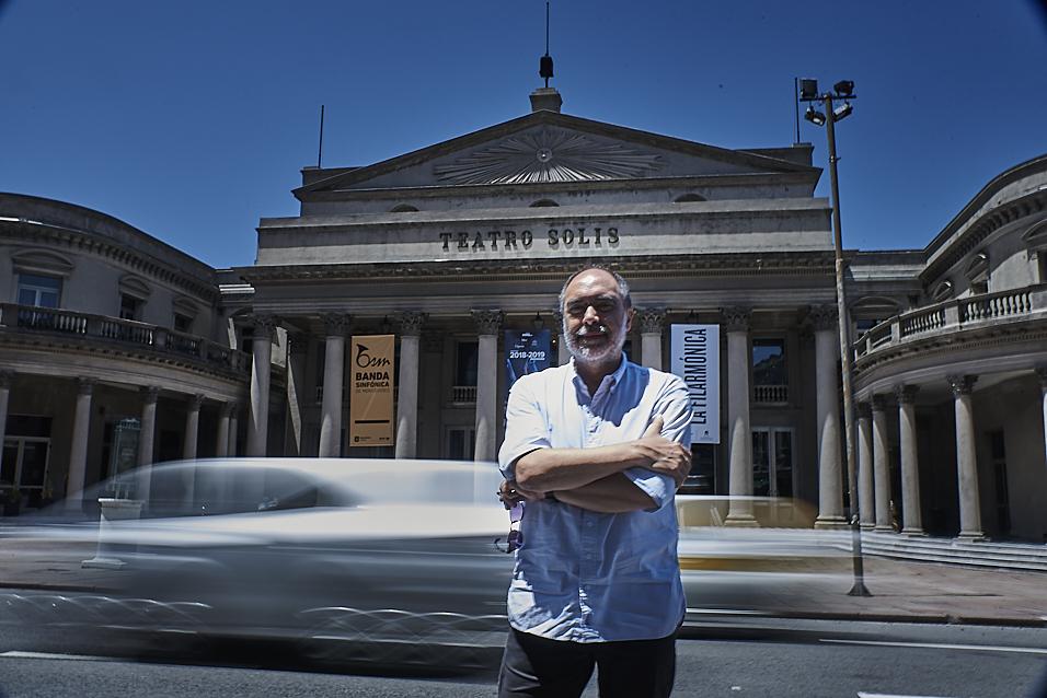 Óscar Pessano en Teatro Solis