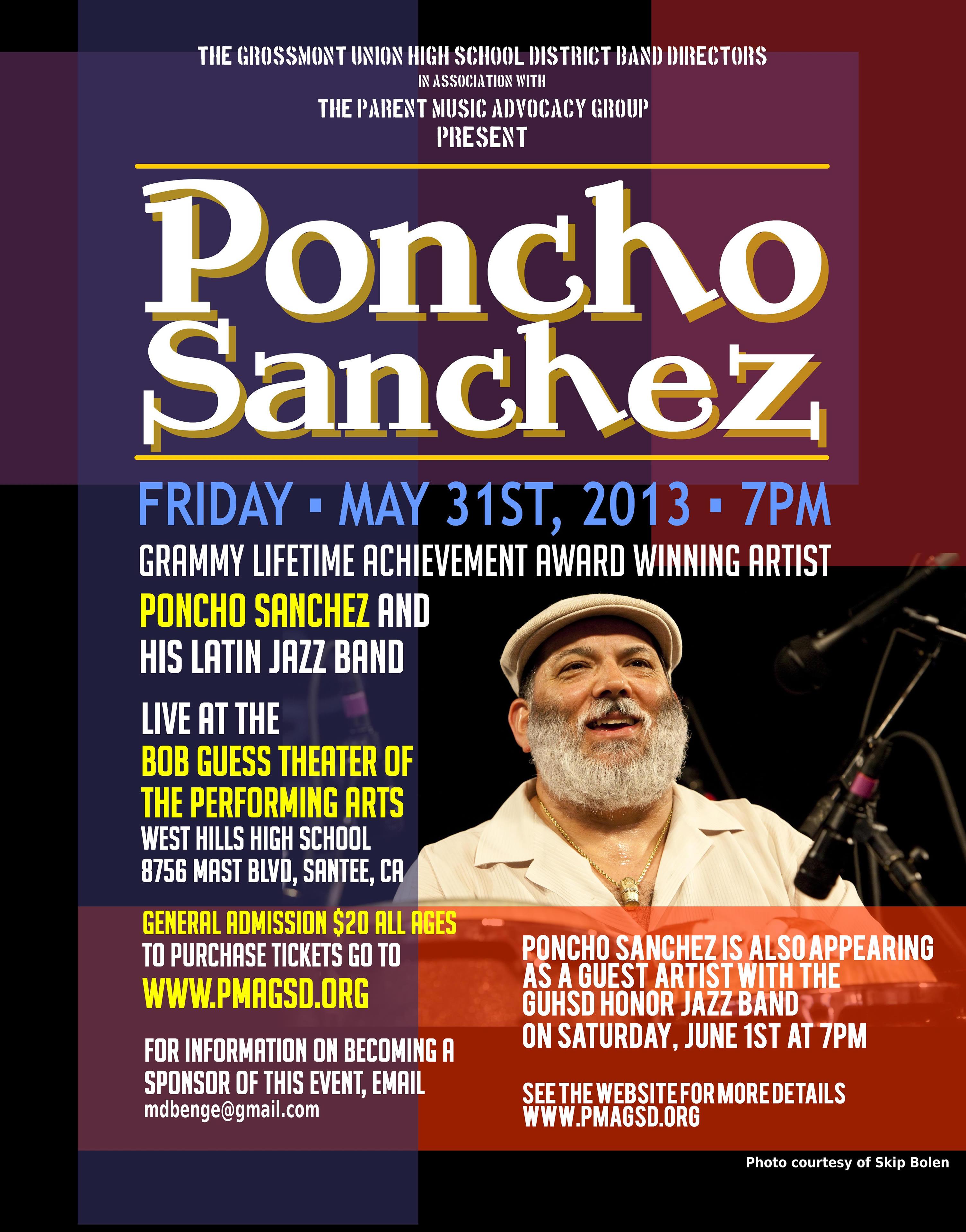Poncho sanchez concert