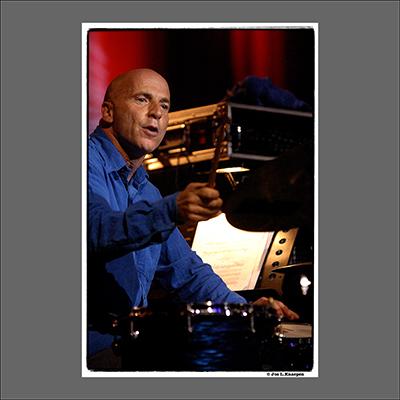 Joey Baron, Jazz in Marciac, France, August 2005