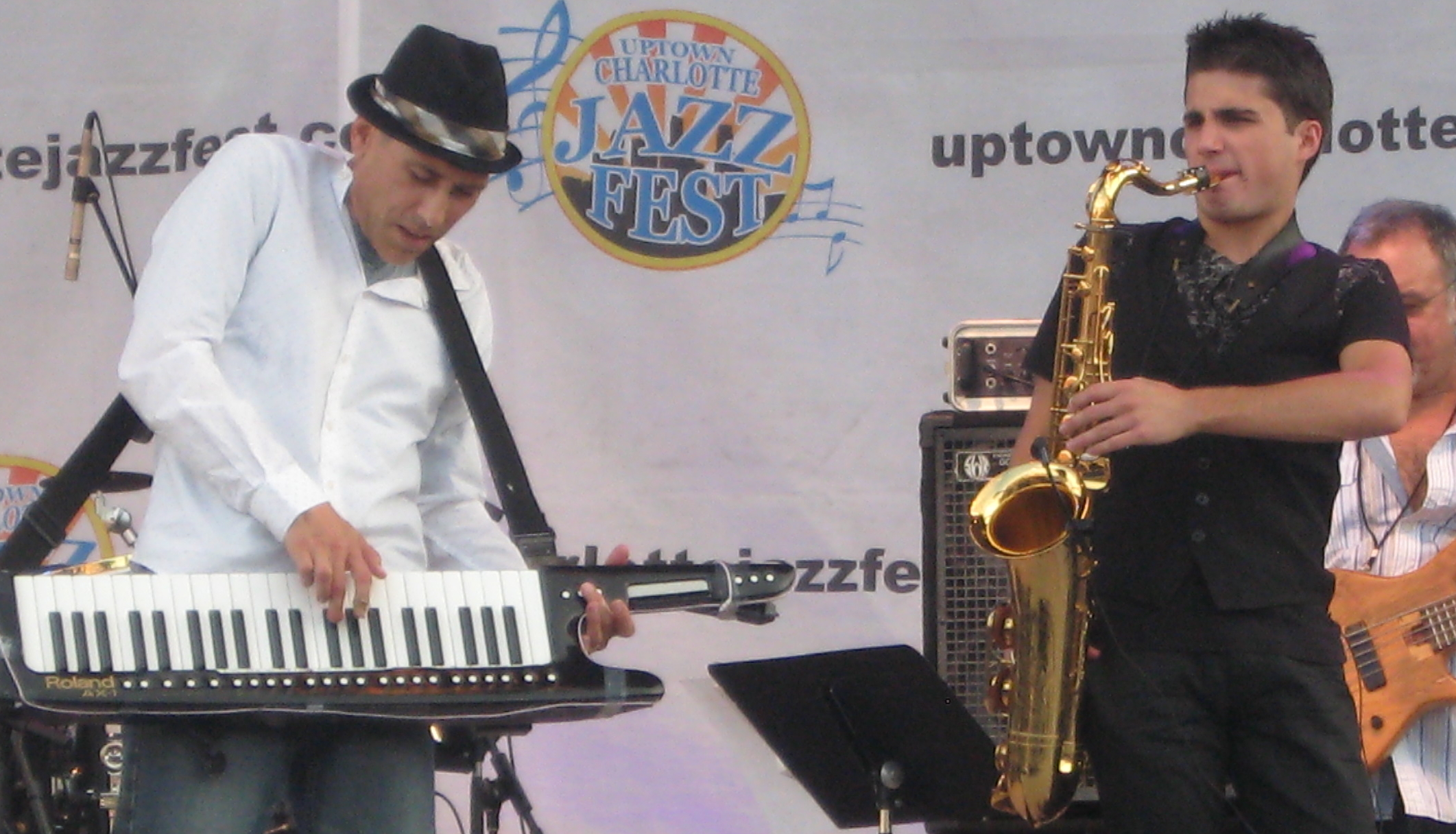 Gregg karukas,vincent ingala,uptown jazz fest