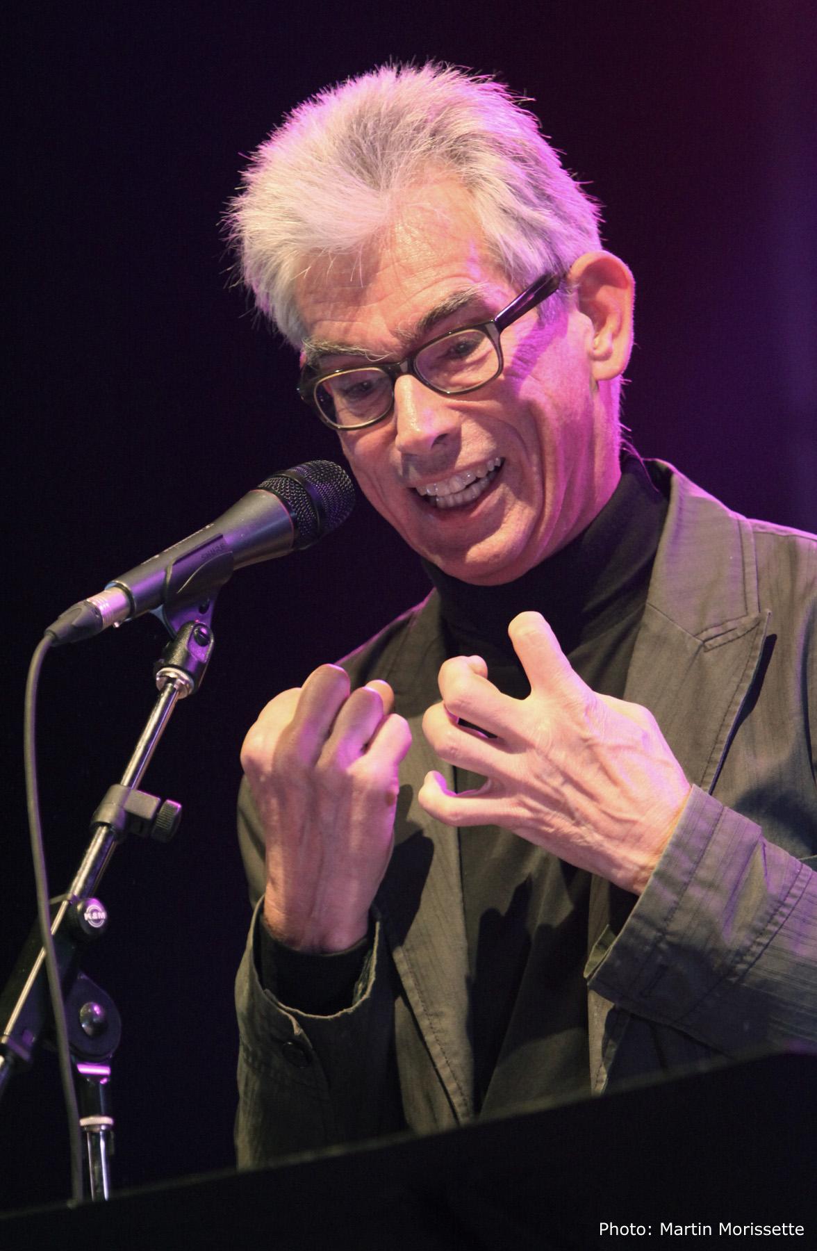 Jaap Blonk at Fimav 2011