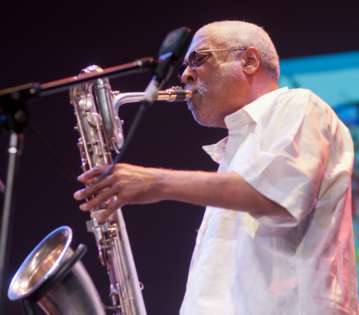 Hamiet Bluiett with the Kidd Jordan Project at the Vision Festival 2011