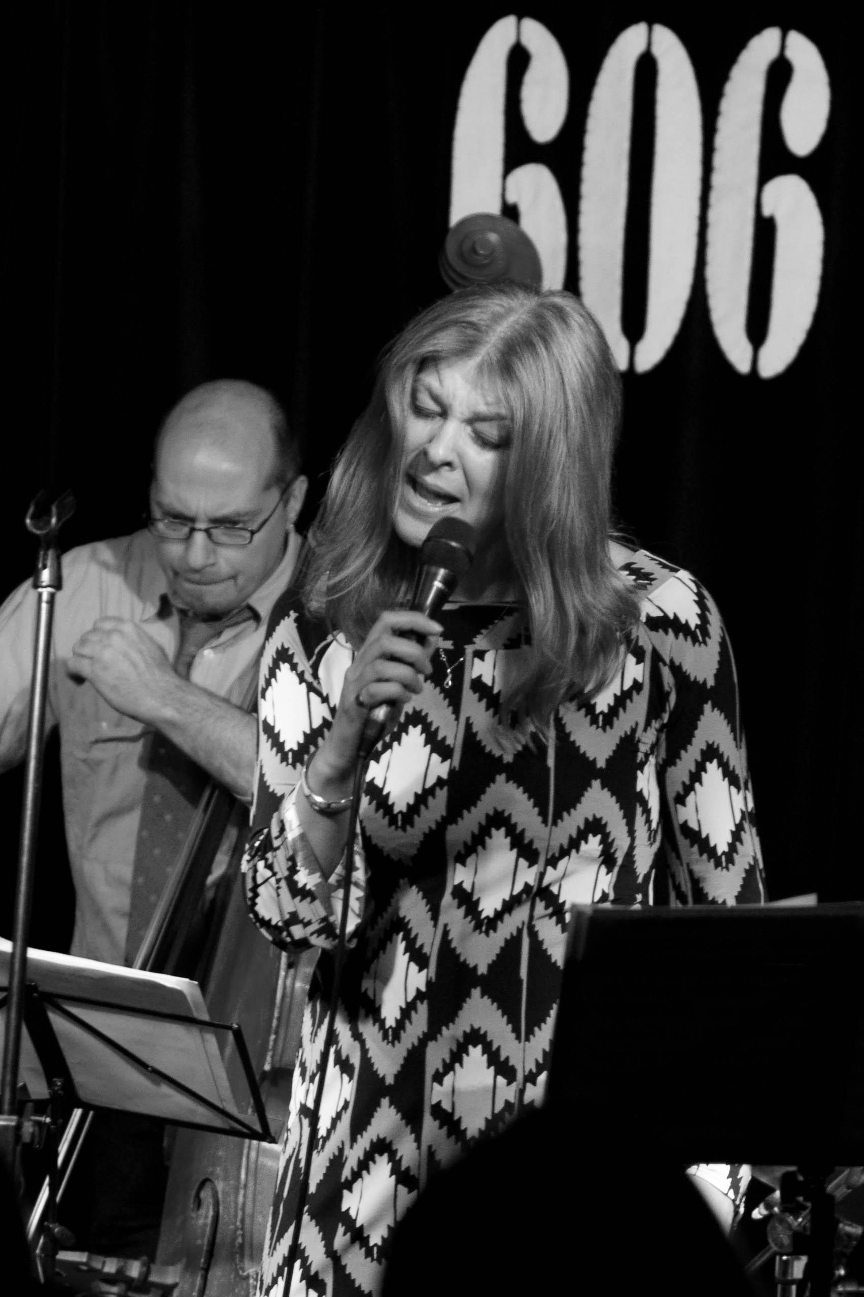 Jacqui Hicks with Simon Thorpe - Bass