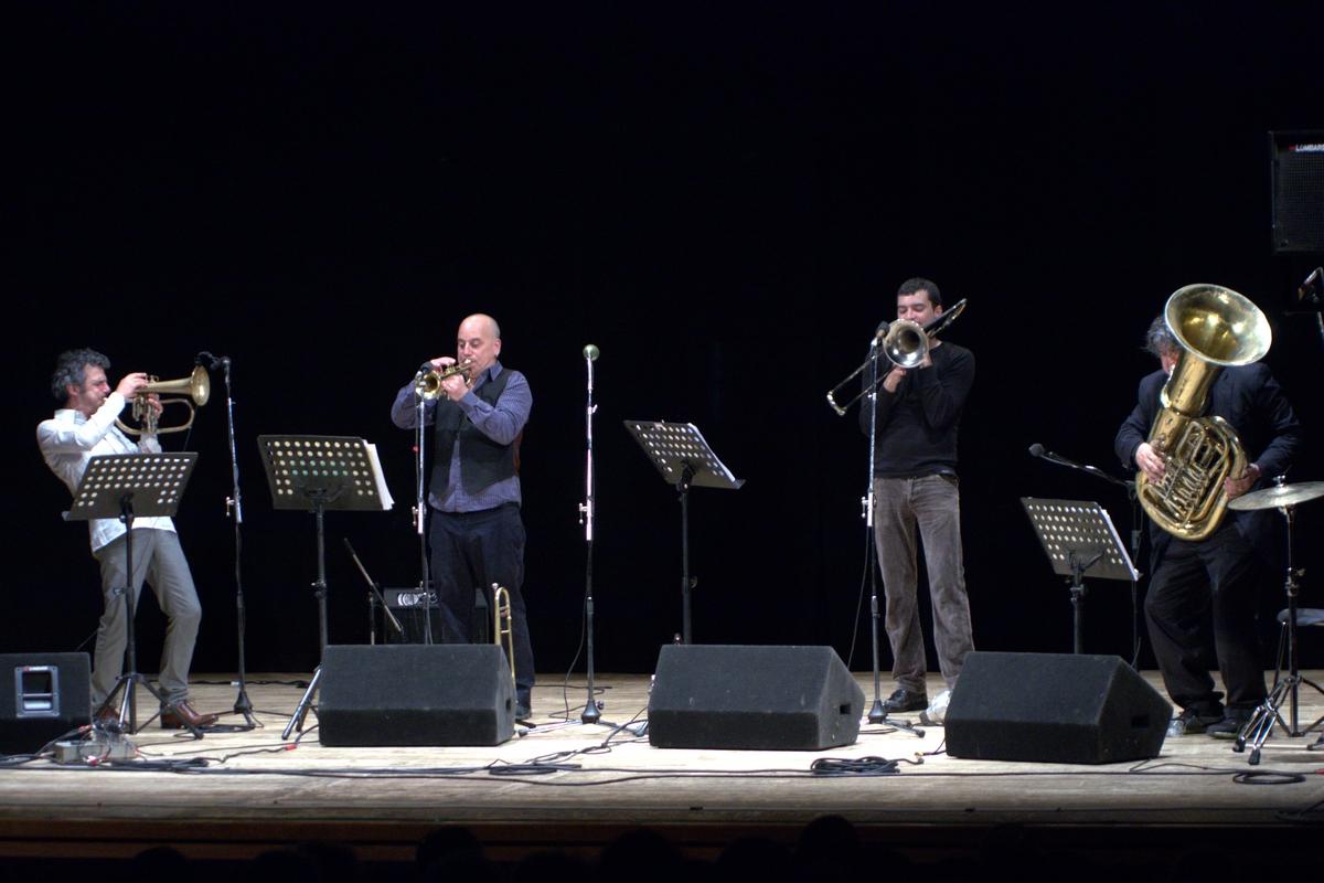 Paolo fresu brass bang!, crossroads 21/04/2013, imola (bologna), italy